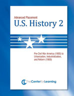 Advanced Placement U.S. History, Book 2 Lesson Plans