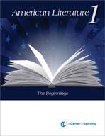 American Literature, Volume 1 Lesson Plans