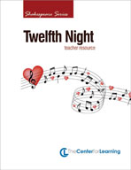 Twelfth Night Lesson Plans