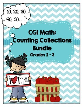 CGI Math: Counting Collections Bundle for 2nd-3rd Grade