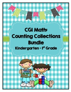 CGI Math: Counting Collections Bundle for Kindergarten - 1
