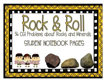 CGI Notebook Pages: Problems about Rocks and Minerals