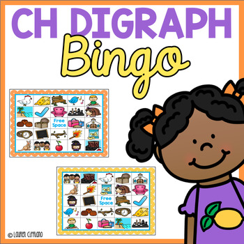 Ch Digraph Bingo Game & A Word Sort (C, H, Ch)