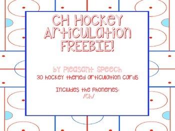 /CH/ Hockey Articulation Freebie!