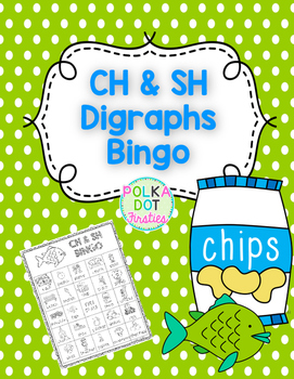 CH & SH Digraphs BINGO