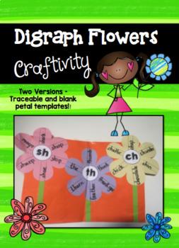 CH, SH, TH - Digraph Flowers Craftivity