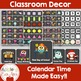 CHALKBOARD Calendar Classroom Bulletin Board Set