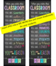 CHALKBOARD - Classroom Decor: LARGE BANNER, When you enter