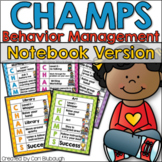 CHAMPS Behavior Management - Notebook Version (PBIS)