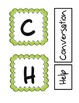 CHAMPS Bulletin Board Pieces / Olive Green Theme