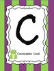 CHAMPS Letter posters (Green & Purple w/ frogs)
