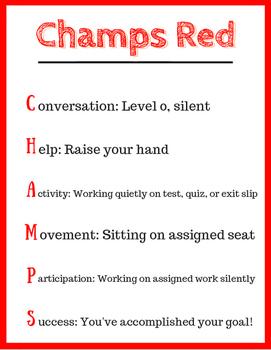 CHAMPS Poster Set