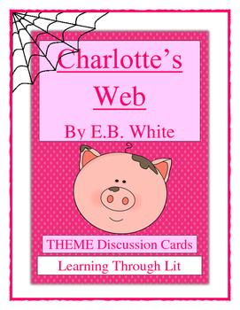 E.B. White CHARLOTTE'S WEB - THEME Discussion Cards