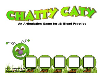 CHATTY CATY An Articulation Game for /S/ BLEND Practice- S