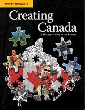 CHC Creating Canada textbook worksheet assortment