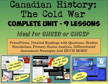 CHC2P CHC2D Cold War: Entire Unit