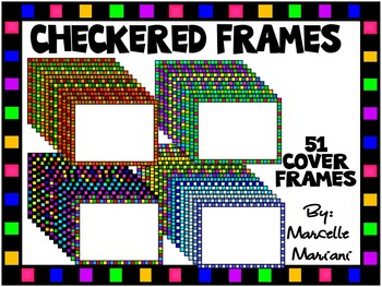 CHECKERED COVER FRAMES