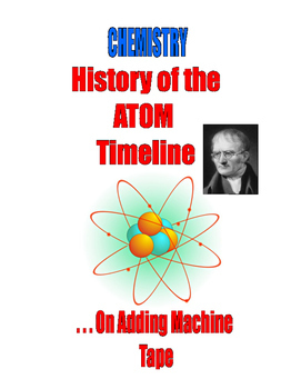 CHEMISTRY -  HISTORY OF THE ATOM and CHEMISTRY