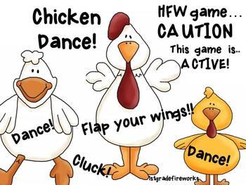 CHICKEN DANCE! HFW game...