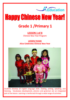 CHINESE NEW YEAR - Lesson 1 of 8 - Grade 1