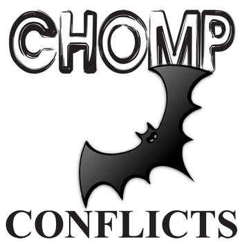 CHOMP Conflict Graphic Organizer - 6 Types of Conflict
