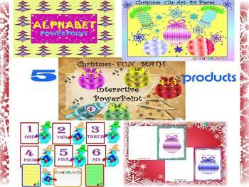 Winter Activities - Math - Alphabet - PowerPointpresentati
