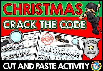 CHRISTMAS ACTIVITIES: CHRISTMAS SECRET WORDS: CRACK THE CODE