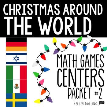 Christmas Around the World Math Centers (2)