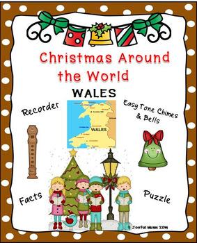 CHRISTMAS AROUND THE WORLD:  Wales - DECK THE HALL