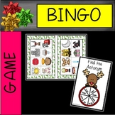 Antonyms and Synonyms Partner Bingo with Christmas Theme