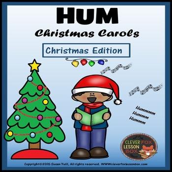 Christmas Carols - Card Game Printable