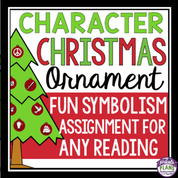 CHRISTMAS CHARACTER ASSIGNMENT: ORNAMENT