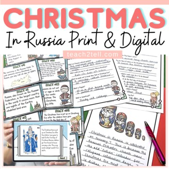 CHRISTMAS: CHRISTMAS AROUND THE WORLD {RUSSIA}