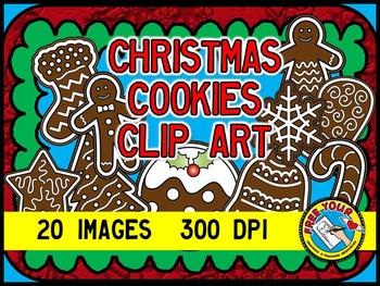 CHRISTMAS COOKIES CLIPART: CHRISTMAS CLIPART COOKIES: CHRI