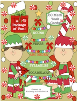 Christmas Math Activities Task Cards!  Printables! Centers! Fun!