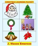CHRISTMAS LEARNING PACKET! (FUN, MATH, LITERACY, CCSS, ART