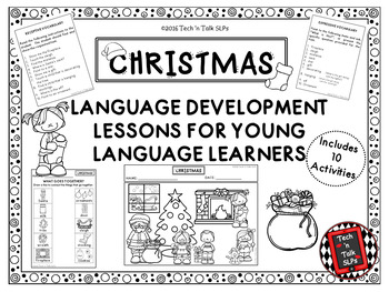 CHRISTMAS Language Development Lessons for Young Language