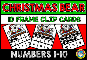 COUNTING/ SUBITIZING ACTIVITIES: CHRISTMAS MATH CENTER: TE