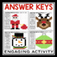 CHRISTMAS PARTS OF SPEECH: Hidden Mystery Pictures