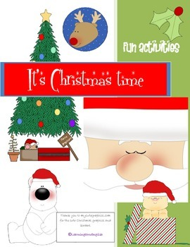 CHRISTMAS TIME ACTIVITIES TO MAKE AND DO - includes origin