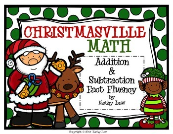 CHRISTMASVILLE - Addition & Subtraction Fact Fluency