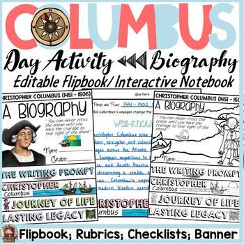 CHRISTOPHER COLUMBUS RESEARCH {BIOGRAPHY FLIPBOOK, CHECKLI