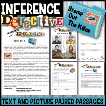 Inference Mystery-Analyze Multiple Texts to Cite and Suppo
