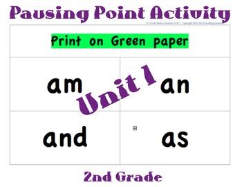 CKLA 2nd Grade Unit 1 Make a Sentence