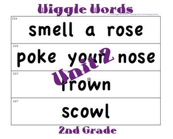 CKLA 2nd Grade Unit 2 Wiggle Words