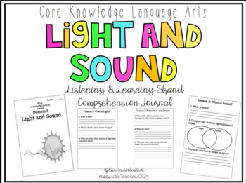 CKLA 3rd Grade Listening & Learning Comprehension Journal-