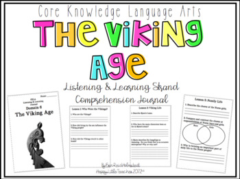 CKLA 3rd Grade Listening & Learning Comprehension Journal-