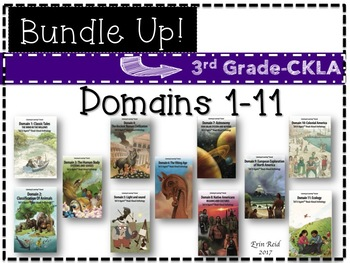 CKLA 3rd Grade Listening & Learning Journal-Domain 1-11 {