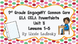 1st Grade EngageNY CommonCore ELA CKLA PowerPoints Unit 3