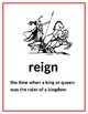 CKLA Domain 8 Kindergarten Kings and Queens Vocabulary Cards